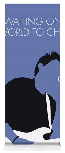 No251 My John Mayer Minimal Music Poster Yoga Mat