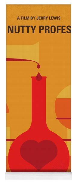 No976 My The Nutty Professor Minimal Movie Poster Yoga Mat