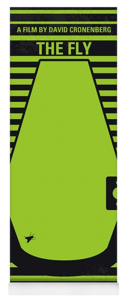 No991 My The Fly Minimal Movie Poster Yoga Mat