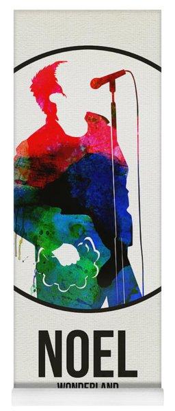 Noel Gallagher Watercolor Yoga Mat