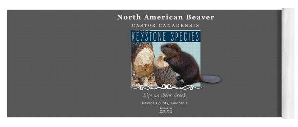 North American Beaver Yoga Mat