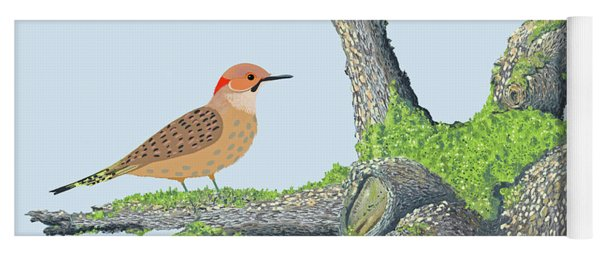 Northern Flicker Yoga Mat