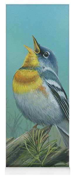 Northern Parula  Yoga Mat