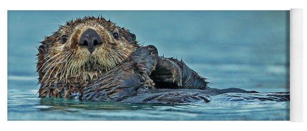 Northern Sea Otter In Alaska Yoga Mat