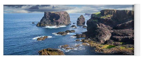 Northmavine Coast, Shetland Isles Yoga Mat