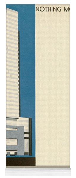 Nothing More Modern The Philadelphia Savings Fund Society Building, 1932 Yoga Mat