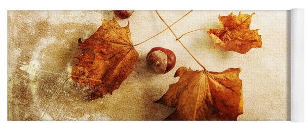 Yoga Mat featuring the photograph November Mood by Randi Grace Nilsberg