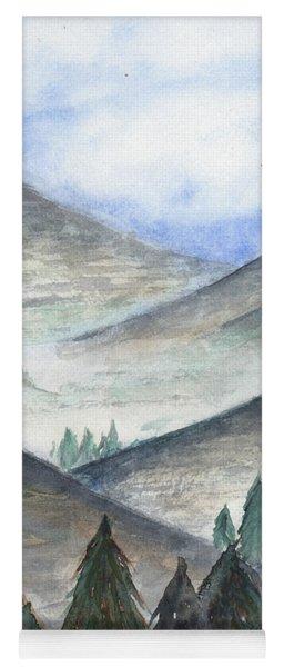 November Mountains Yoga Mat
