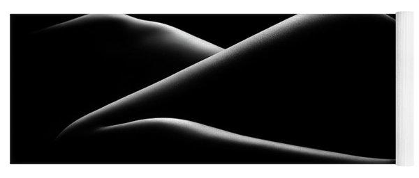 Nude Woman Bodyscape 17 Yoga Mat