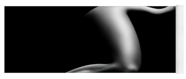 Nude Woman Bodyscape 9 Yoga Mat