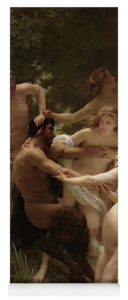 Nymphs And Satyr, 1873 Yoga Mat