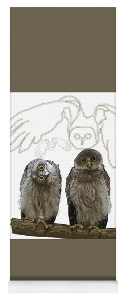 O Is For Owl Yoga Mat