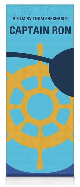 No1031 My Captain Ron Minimal Movie Poster Yoga Mat