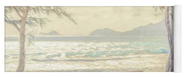 Oahu Morning 69x92 Yoga Mat
