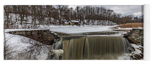 Oak Creek Parkway Waterfall Yoga Mat