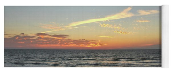 Yoga Mat featuring the photograph Obx Horizons by Jamart Photography