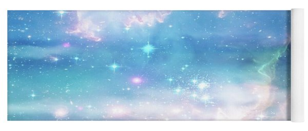 Oceans In The Heavens Yoga Mat