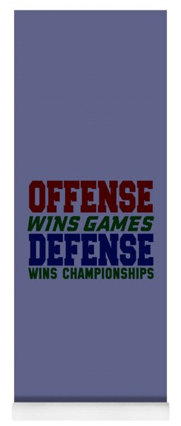 Offence Defense Yoga Mat