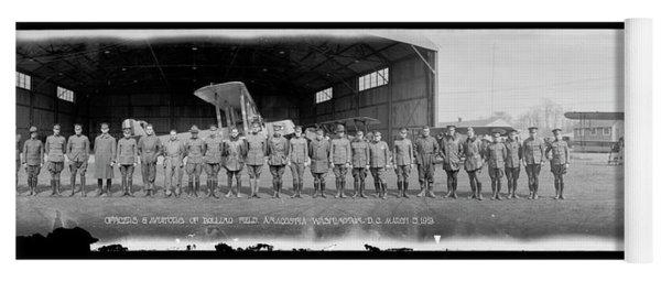 Officers & Aviators Of Bolling Field Yoga Mat