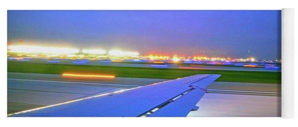 O'hare Night Takeoff Yoga Mat