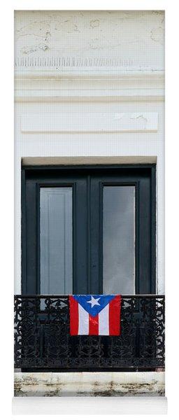 Old San Juan - Window Yoga Mat