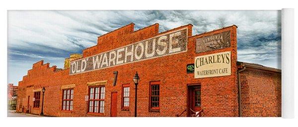 Old Warehouse In Farmville Virginia Yoga Mat