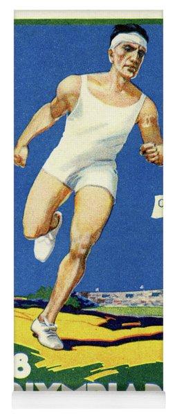 Olympics 1928 Amsterdam, Netherlands Yoga Mat