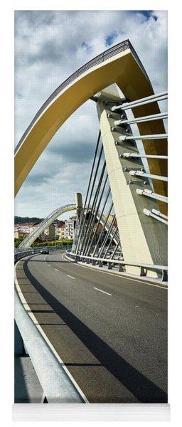 Millennium Bridge In Ourense, Spain Yoga Mat