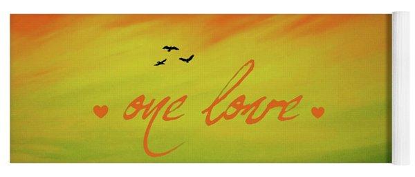 One Love Yoga Mat