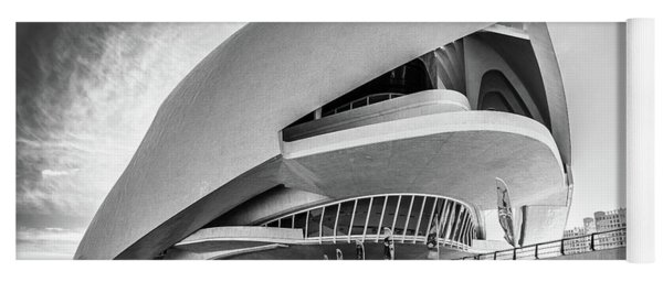 Opera House, Valencia. Yoga Mat
