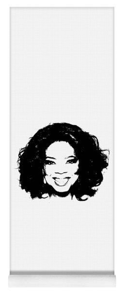 Oprah Minimalistic Pop Art Yoga Mat
