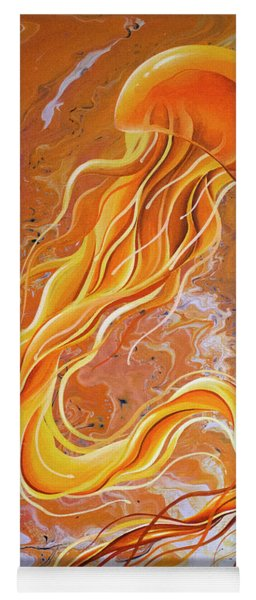 Orange Jelly Yoga Mat