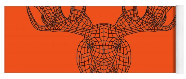 Orange Moose Yoga Mat