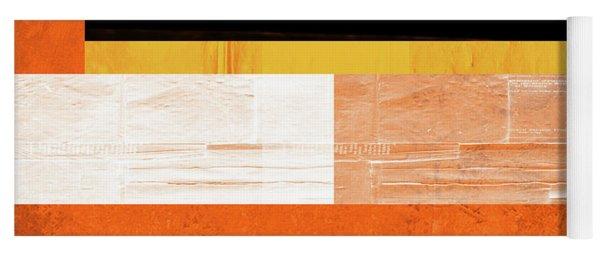 Orange Paper 4 Yoga Mat