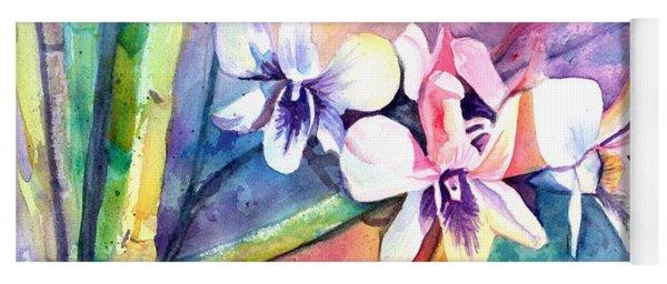 Orchid Fun Yoga Mat