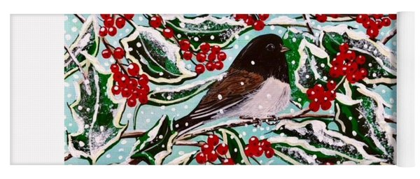 Oregon Junco  Holly Yoga Mat