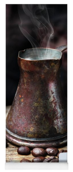 Oriental Coffee Pot Yoga Mat