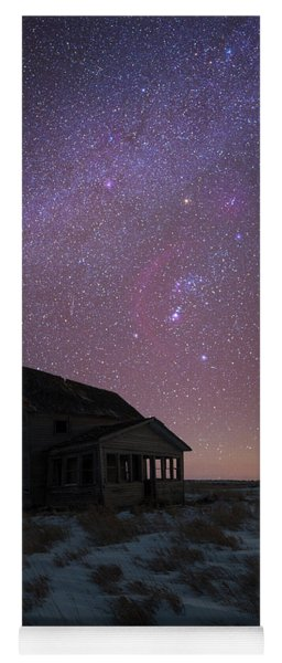 Yoga Mat featuring the photograph Orion  by Aaron J Groen