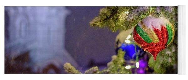 Ornament, Market Square Christmas Tree Yoga Mat
