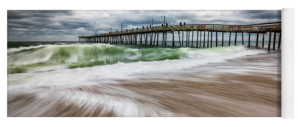 Outer Banks Nc North Carolina Beach Seascape Photography Obx Yoga Mat