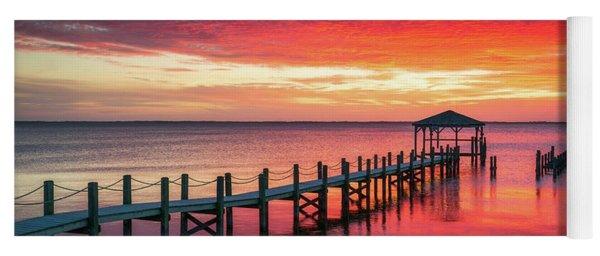 Outer Banks North Carolina Sunset Seascape Photography Duck Nc Yoga Mat