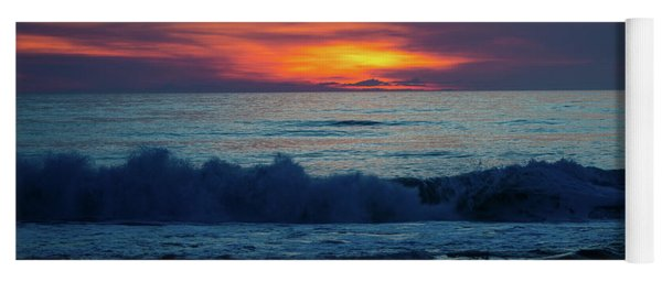 Yoga Mat featuring the photograph Outer Banks Sunrise by Lora J Wilson