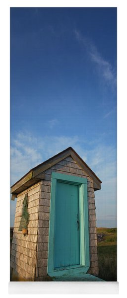 Outhouse, Matinicus Island, Knox Yoga Mat