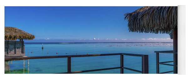 Over The Water Bungalow French Polynesia Yoga Mat