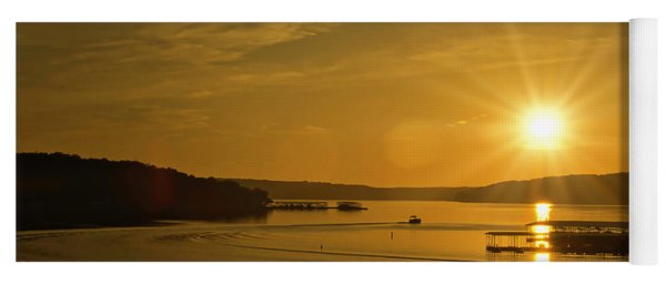 Ozark Sunrise Yoga Mat