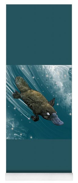 P Is For Platypus Yoga Mat