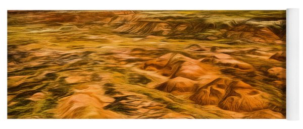 Yoga Mat featuring the photograph Painted Desert Far View by Jon Burch Photography