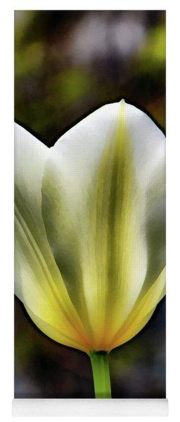 Painting Tulip Flower Yoga Mat