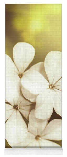 Pale Wildflowers Yoga Mat