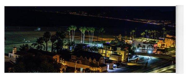 Palisades Park Night - Panorama Yoga Mat